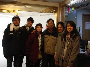 Boa Kim with my family.