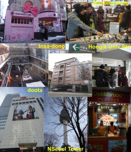 You can go major tourist spots in Seoul from BoA guesthouse.