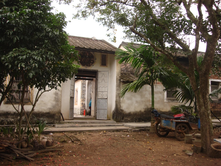 01_Main entrance to ancestor home, 海南 文昌市 谭牛镇, 城坡邢村, 19.12.2009
