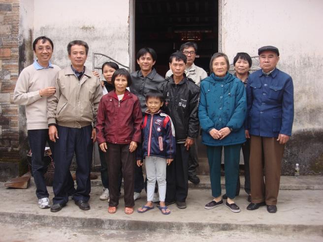 15_姨∶林月燕, 姨丈∶杨必荫, 20.12.2009