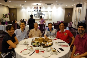 Tay Jiun Kheng, Dennis Sng, Robert Gay, Ho Nai Choon, Me, Jasbir Singh