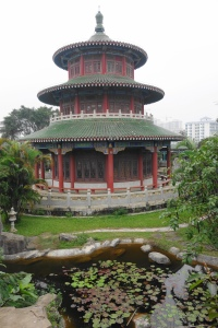 Behind the Pavilion of Breeze (清风阁后面)