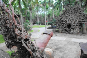 The Garden of Tree Root Carvings(根雕艺术园)in Hainan Volcano Park