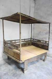 An ancient bed