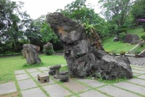 A frog-like basalt(玄武岩)