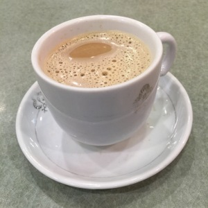A cup of Ipoh coffee